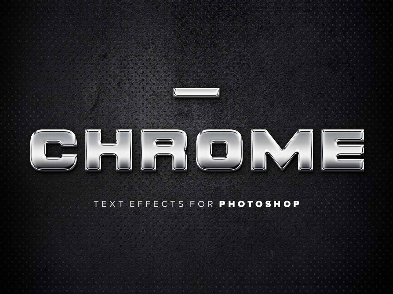 Chrome Text Effects