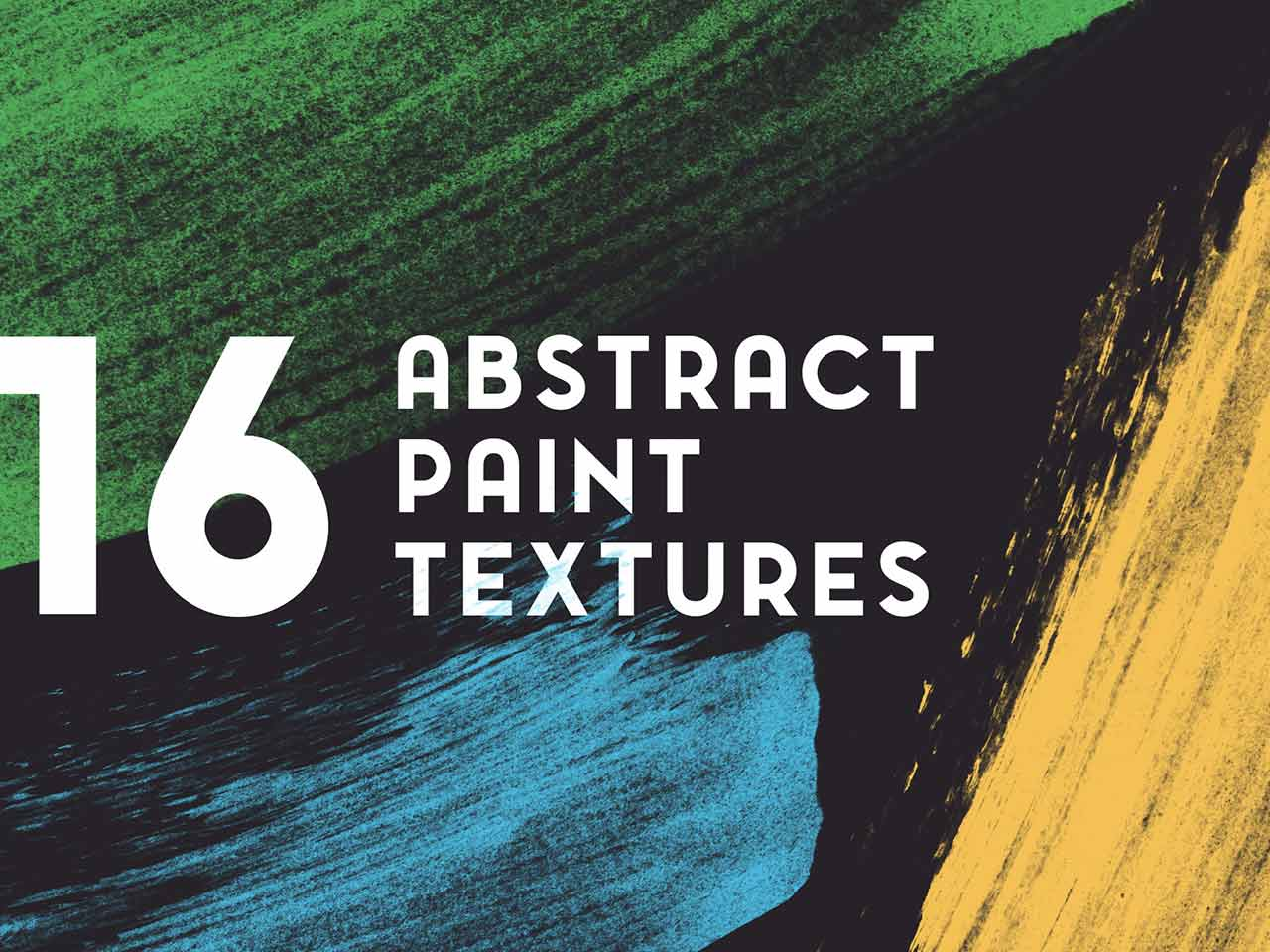 16 Abstract Paint Textures