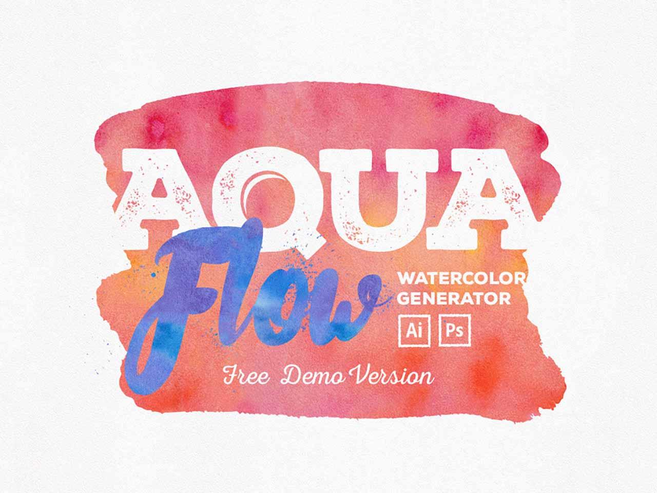 Aquaflow Free Watercolor Styles