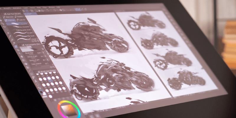 Clip Studio Paint Interface