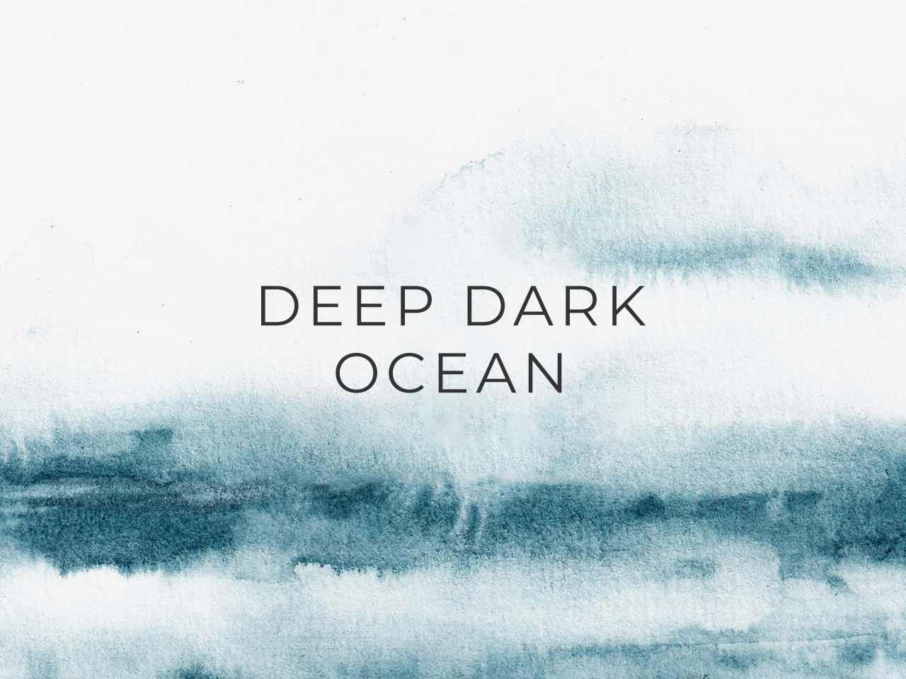 Free Deep Dark Ocean Abstract Watercolor