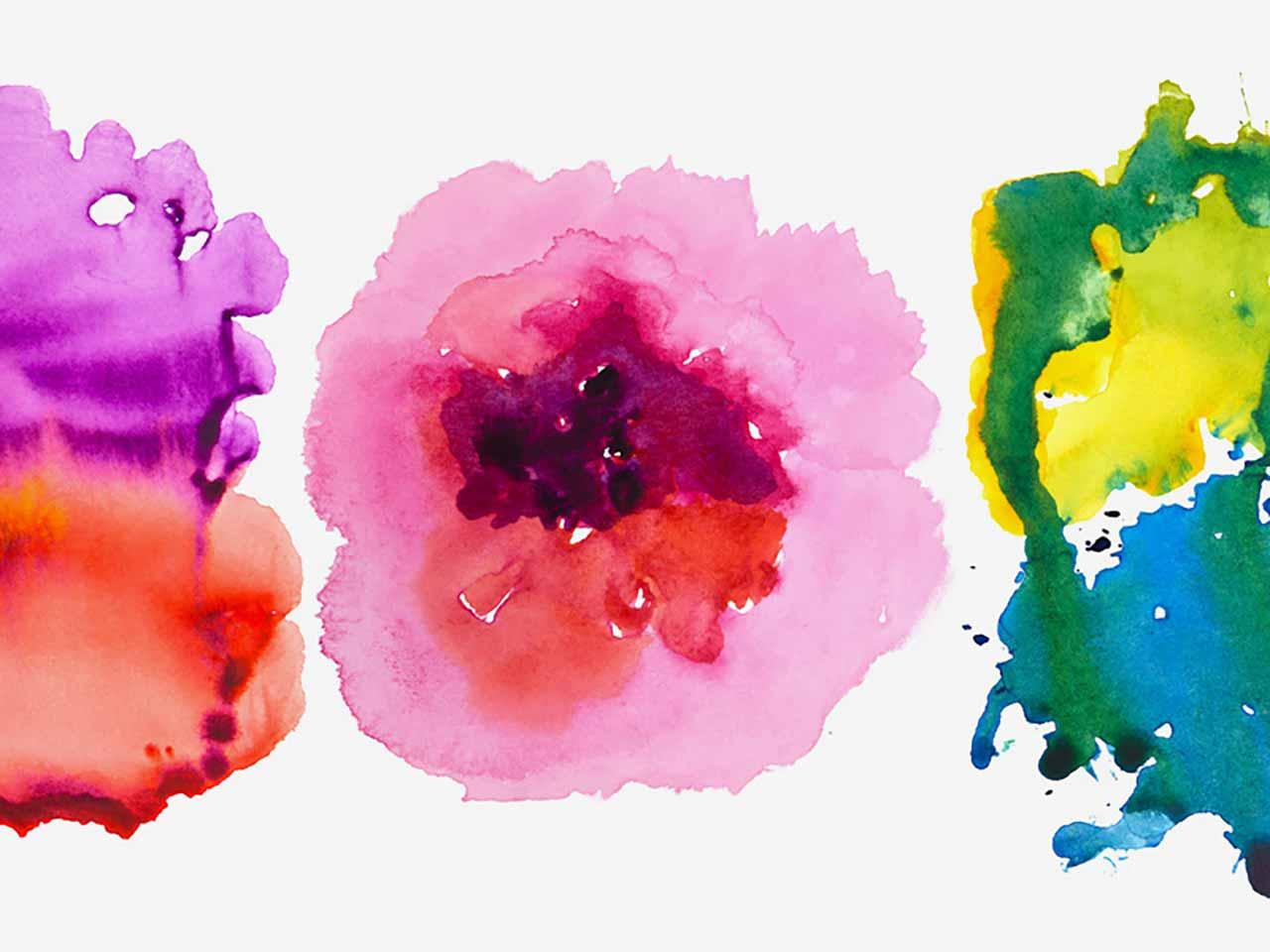 6 Watercolor Textures vol. 3