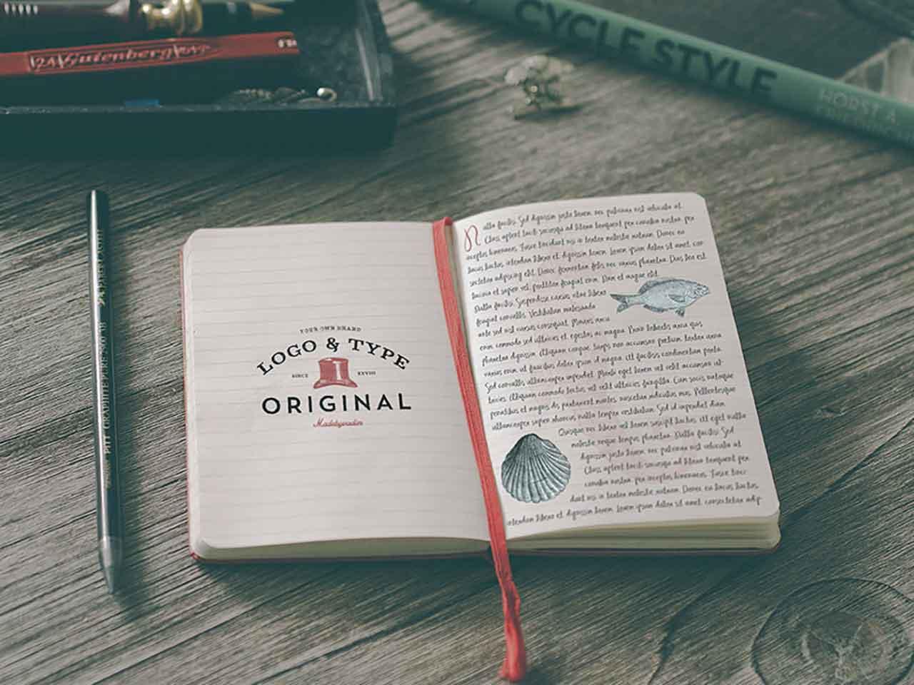 Hip Notebook Mockups Set