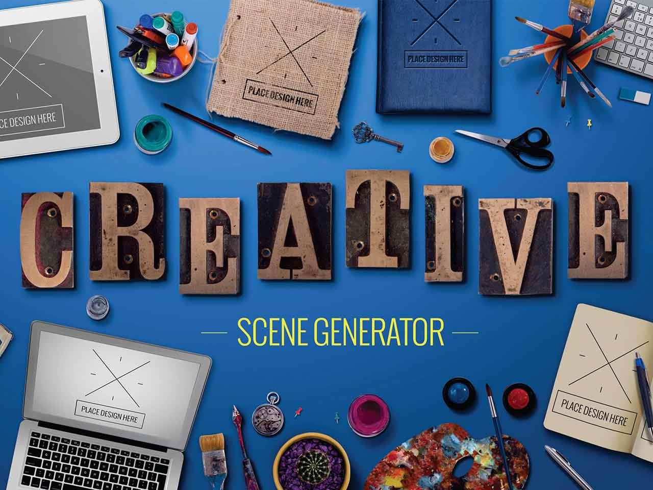 Creative Scene Generator
