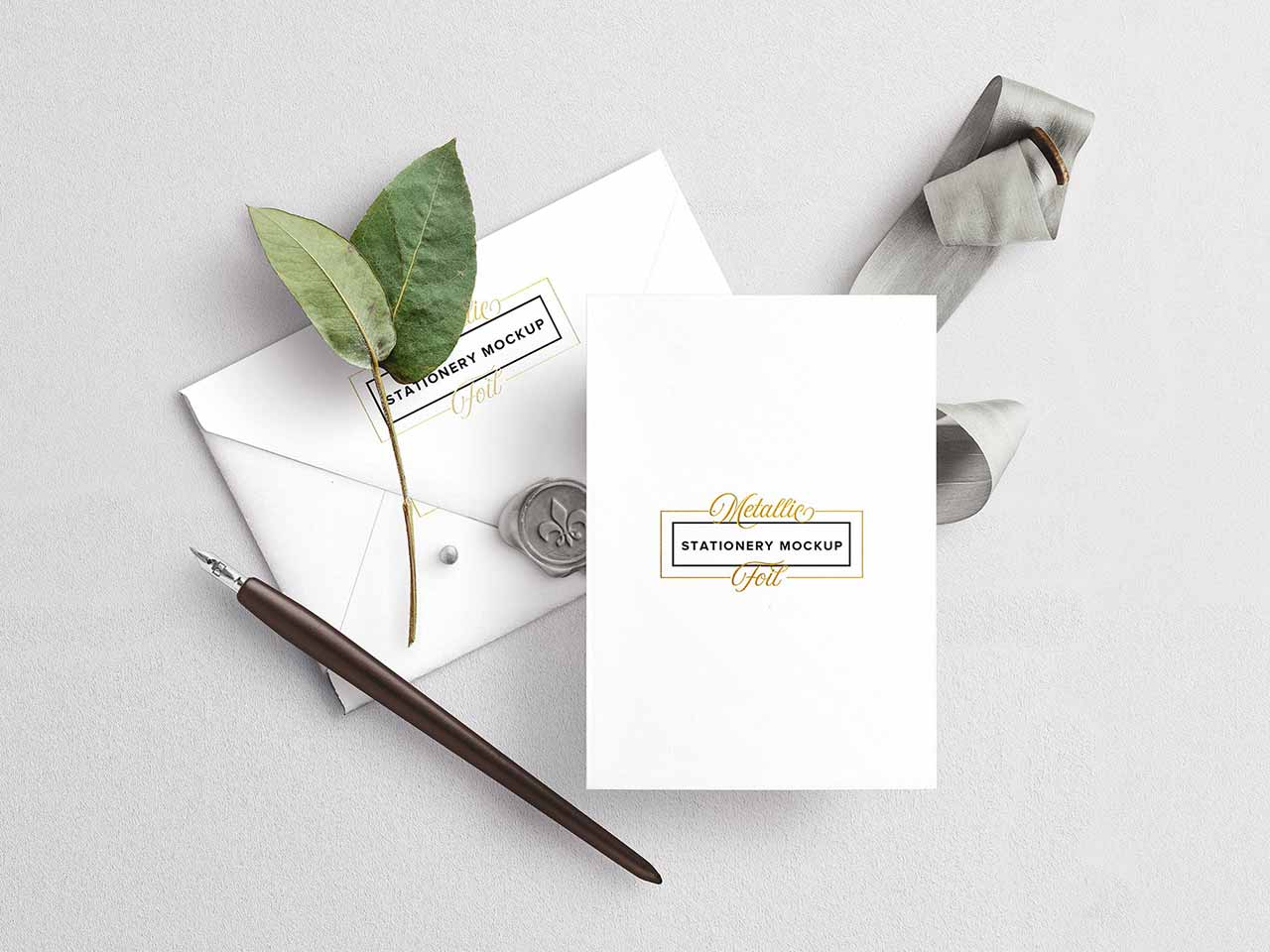 Wedding Stationery Mockup Set