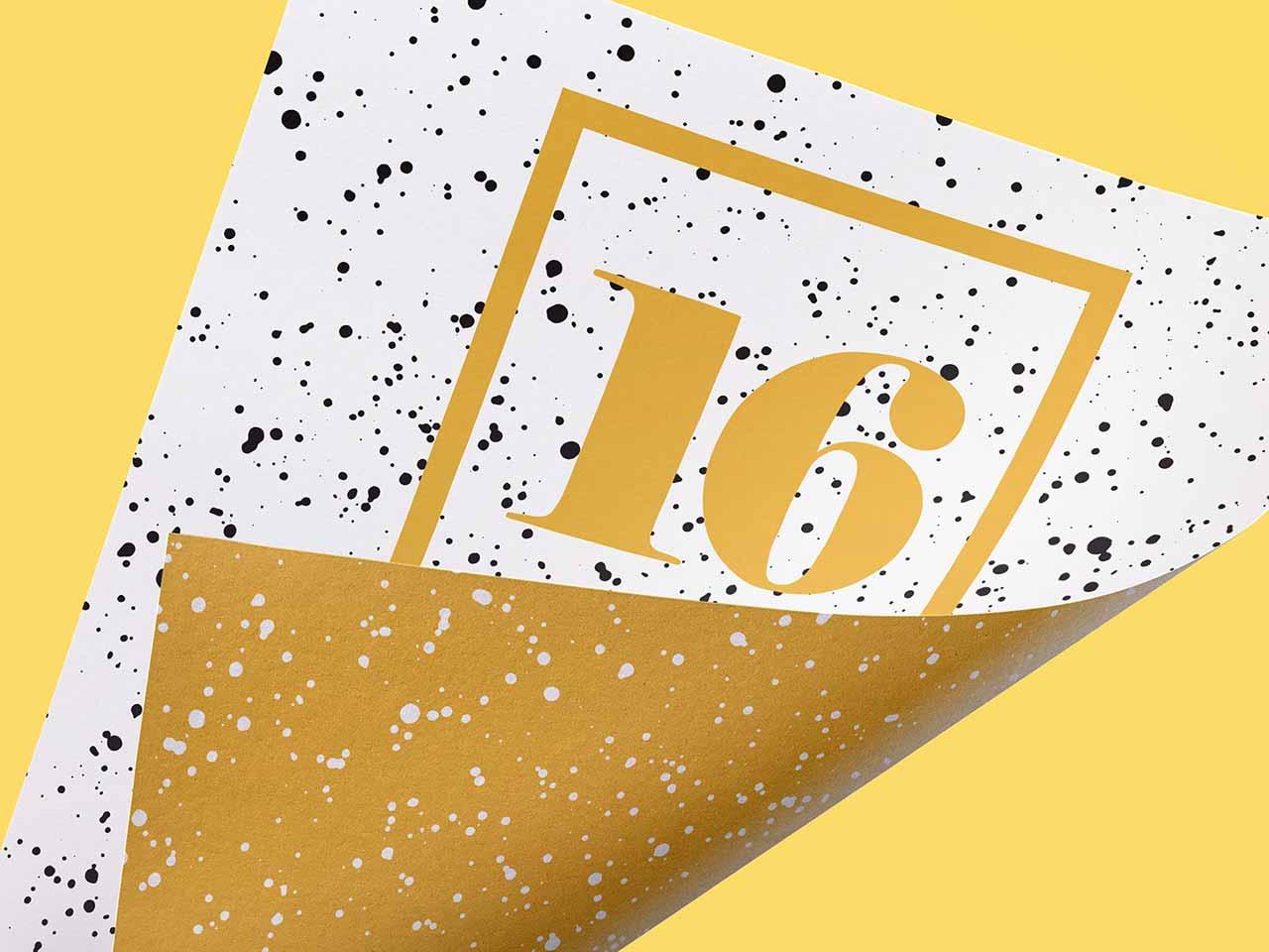 16 Sprayed Vector Textures