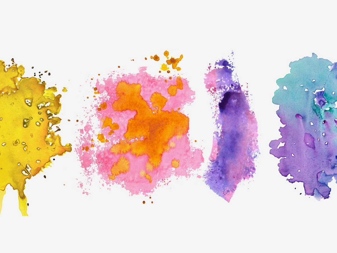 6 Watercolor Textures vol.2