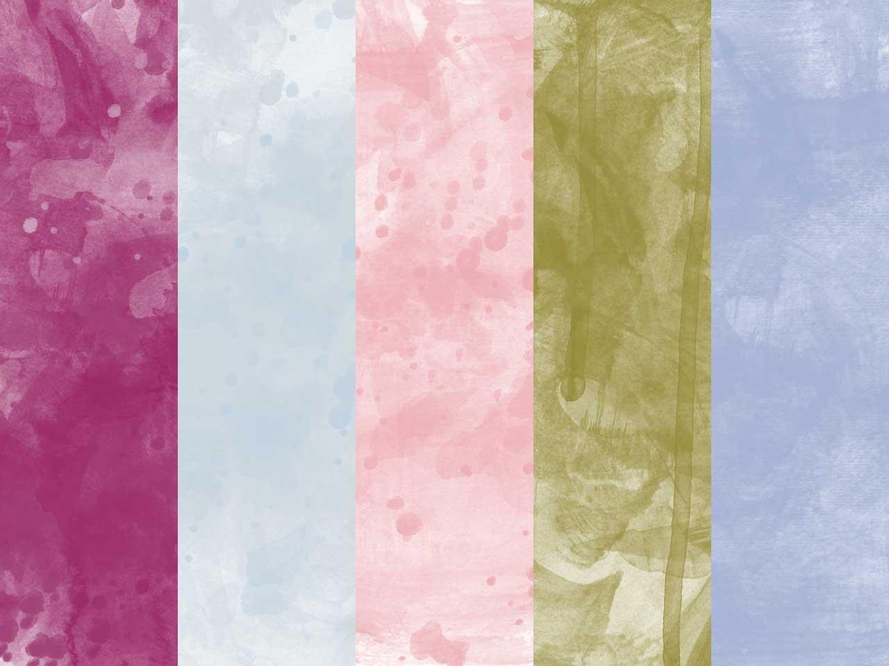 5 Watercolor Texture Backgrounds