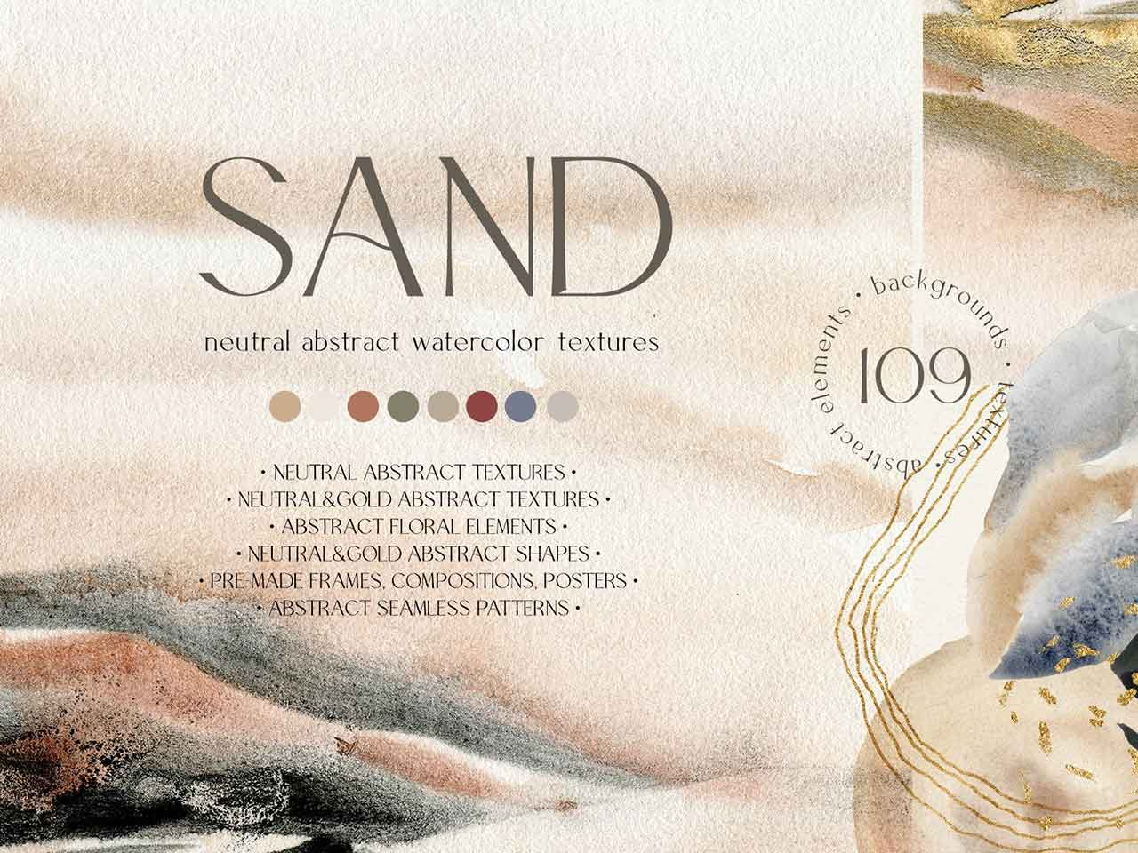 Sand — Neutral abstract textures