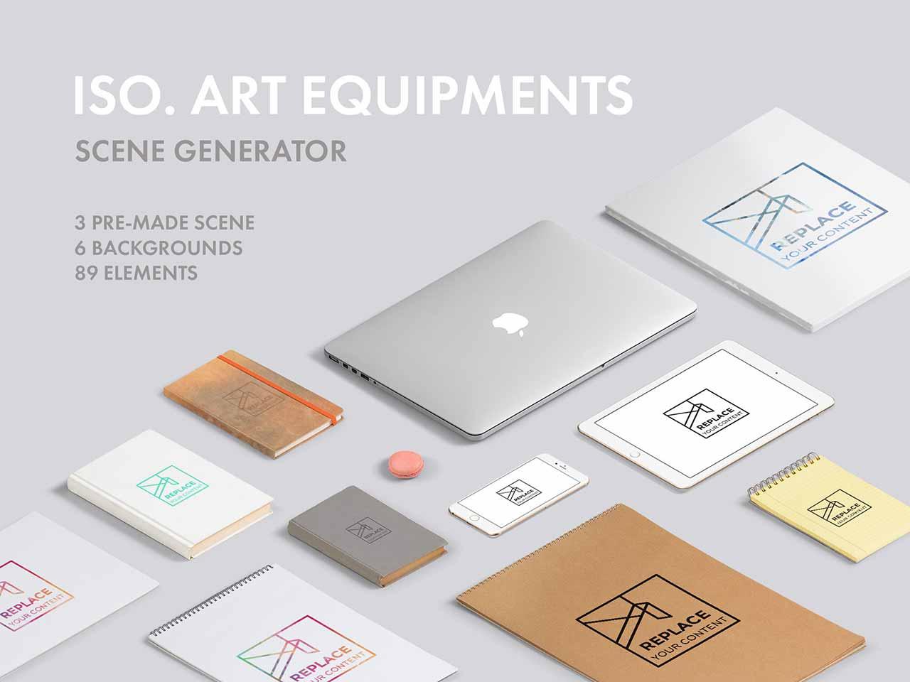 Iso. Art Scene Generator